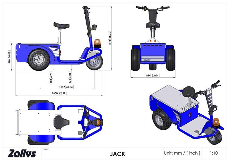 JACK 900W 1/32