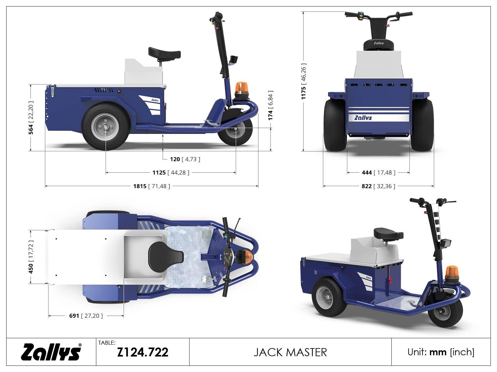 JACK 1200W 1/32