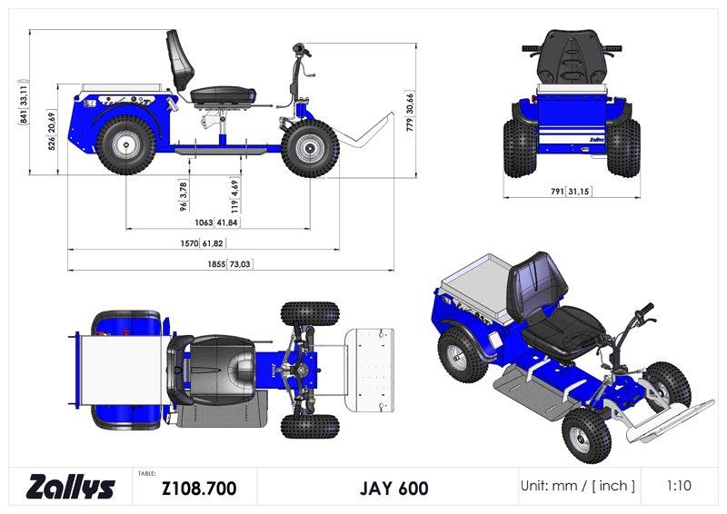 Jay 600W con batterie 80A