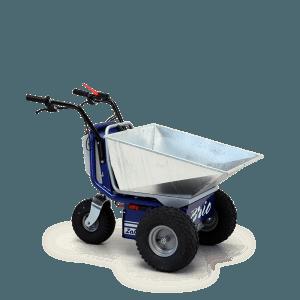 carriola elettrica Brio,carriola elettrica,carriola a motore,motocarriola,Zallys